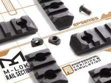 PTS PTS Enhanced M-LOK Rail 7 Slot Black