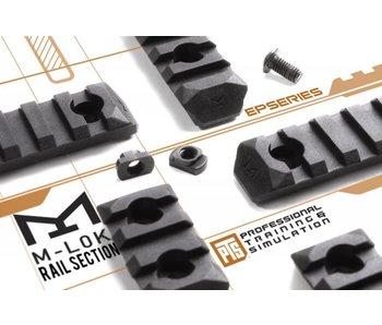 PTS Enhanced MLOK Rail 7 Slot Black