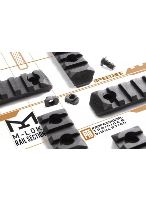 PTS Enhanced MLOK Rail 7 Slot Black