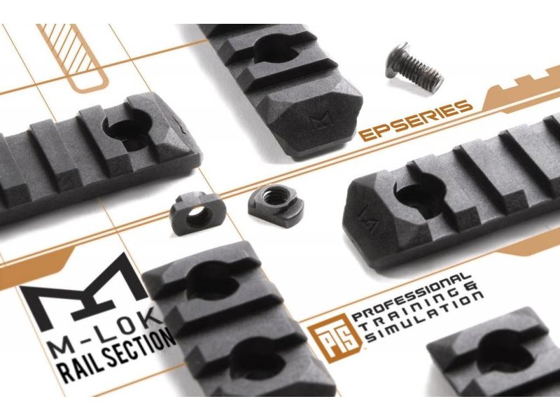 PTS PTS Enhanced MLOK Rail 7 Slot Black