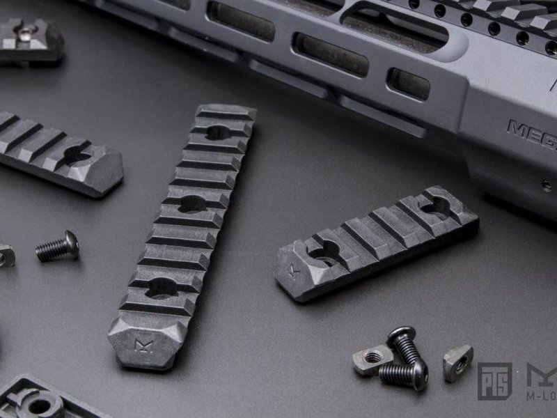 PTS PTS Enhanced M-LOK  Rail 11 Slot Black