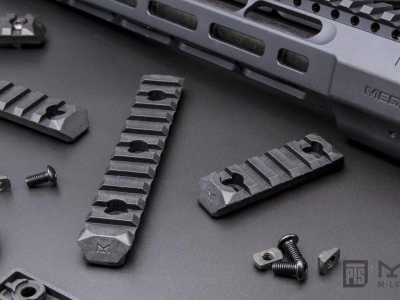 PTS PTS Enhanced MLOK Rail 11 Slot Black