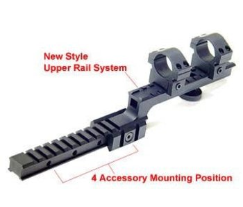 Leapers M16  bilevel Mount w/rings