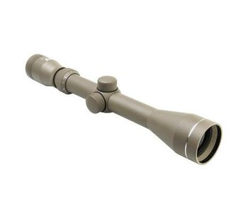 NC Star 3-9x40 Blue Lens P4 Full Size Scope with Weaver Rings Tan