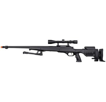 Well WELL MB12 VSR10 Gripped Spring Sniper Rifle