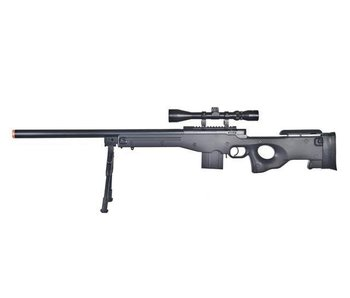 WELL MB4401 L96T AWP Bolt Action Spring Sniper Rifle