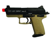 KWA KWA H&K USPC Tactical Black/FDE