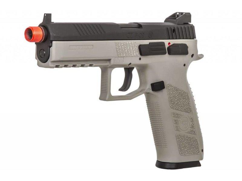 ASG ASG CZ P-09 Green Gas Full Blowback Pistol Urban Grey