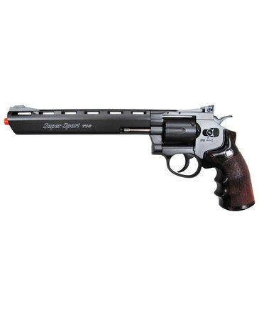 "Win Gun Win Gun full metal 8"" CO2 revolver, 6 shot"