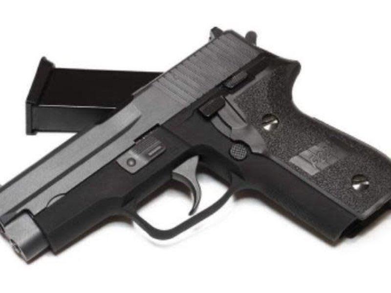 WE Tech WE F228 Metal Gas Blowback Pistol Black