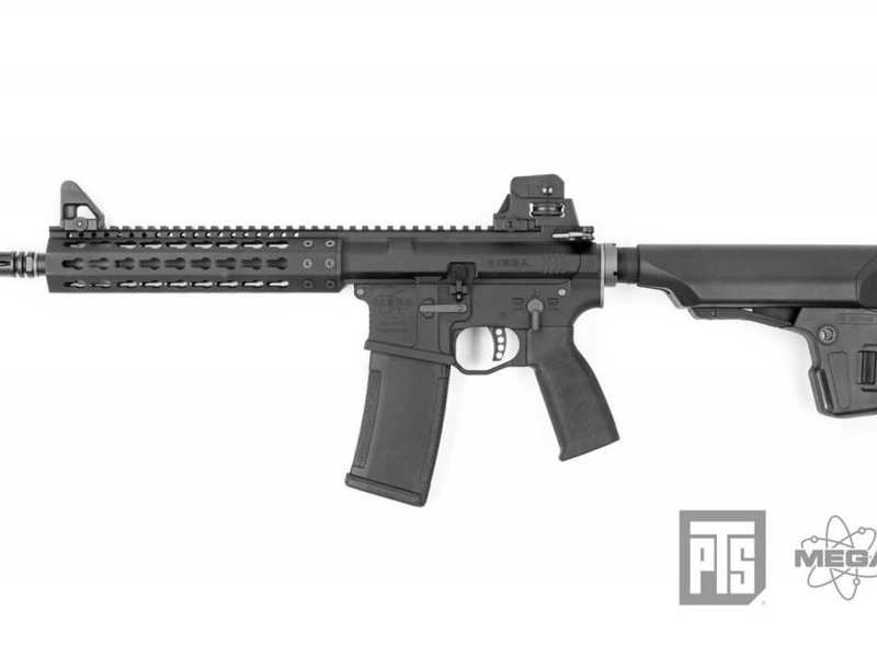 PTS PTS Mega Arms MKM CQB AR-15 GBBR Black