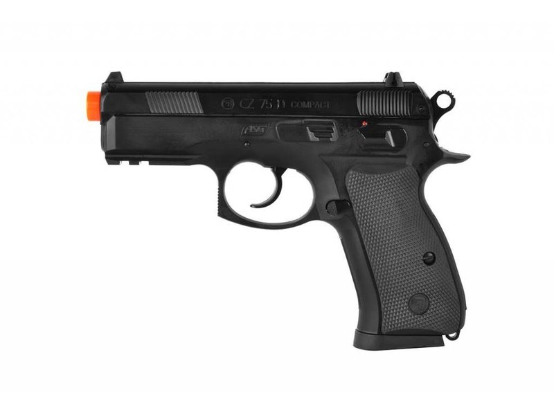 ASG ASG CZ75D compact spring pistol BLK