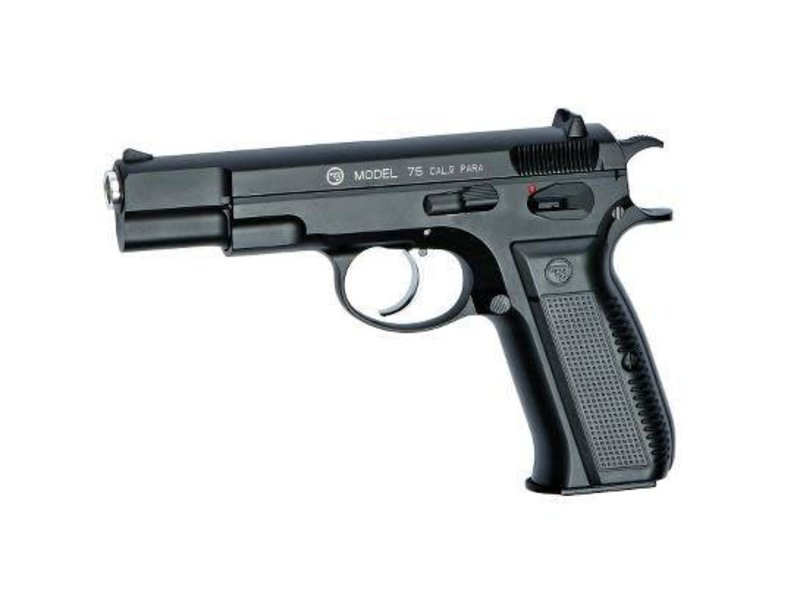 ASG ASG CZ 75 Gas Blowback Pistol Black