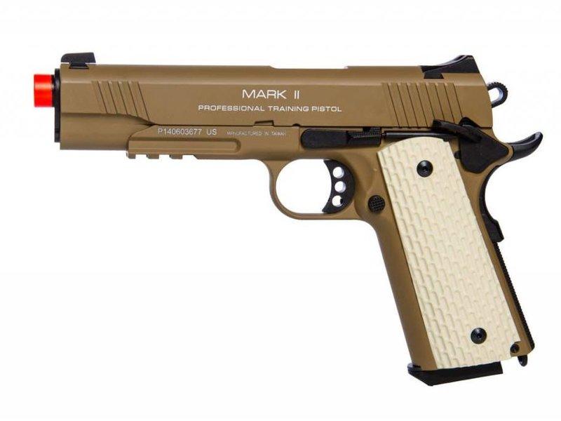 KWA KWA 1911 MKII PTP Green Gas Blowback Pistol