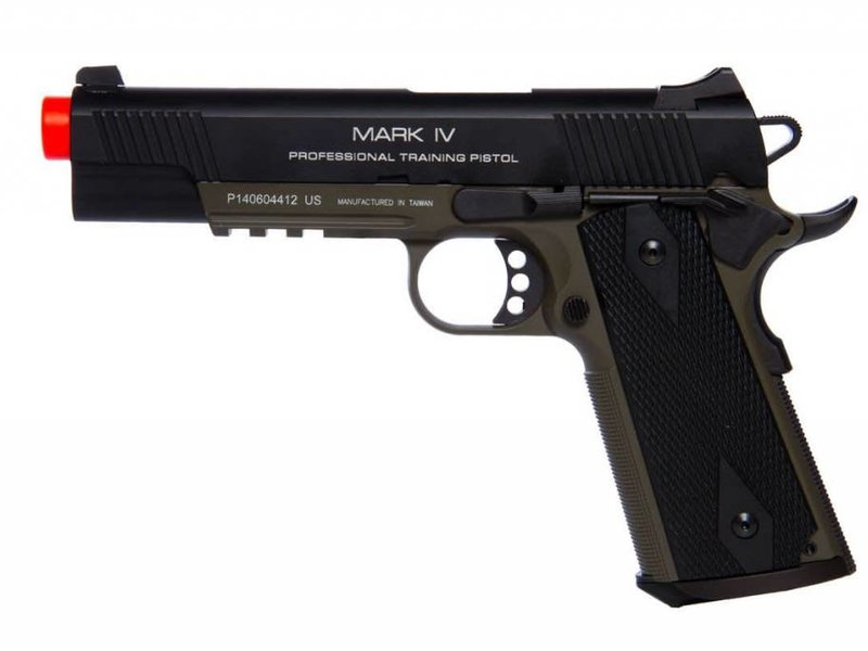KWA KWA 1911 MKIV PTP Green Gas Blowback Pistol