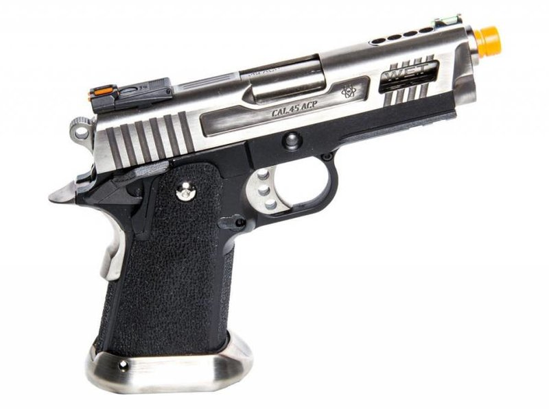 WE Tech WE Tactical Velociraptor Hi Capa 3.8 Gas Blowback Pistol