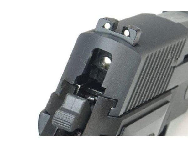 WE Tech WE F226 MK25 Gas Blowback Black