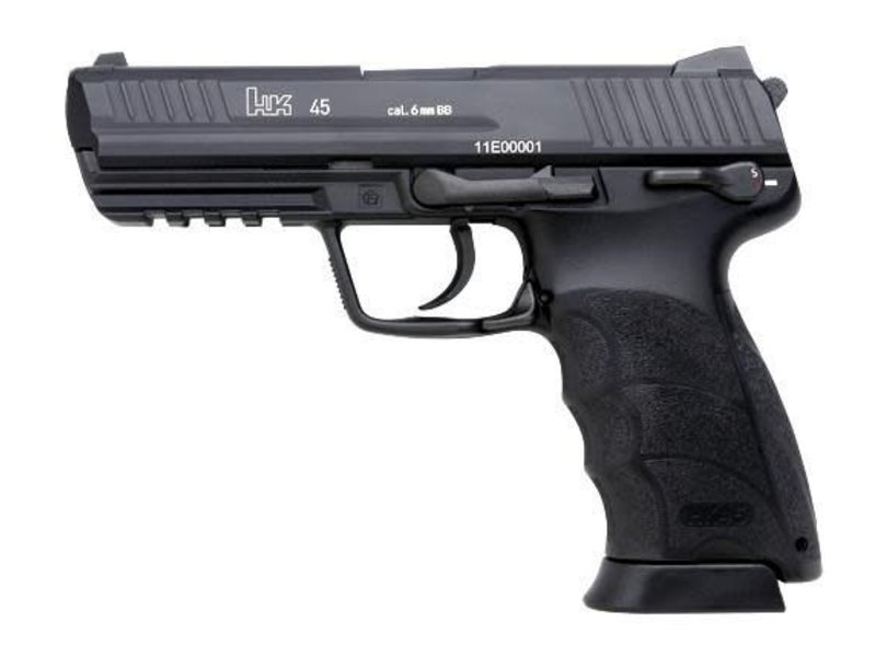 KWA Umarex Elite Force H&K HK45 Gas Blowback Pistol Black by KWA