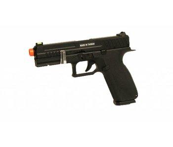 KJ Works KP-13 Poly Frame GBB Pistol Black