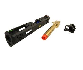 WE M18 Tactical Slide Conversion Kit Gold