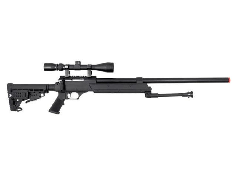 Well WELL MB13 APS SR2 Rifle w/Scope+Bipod Black