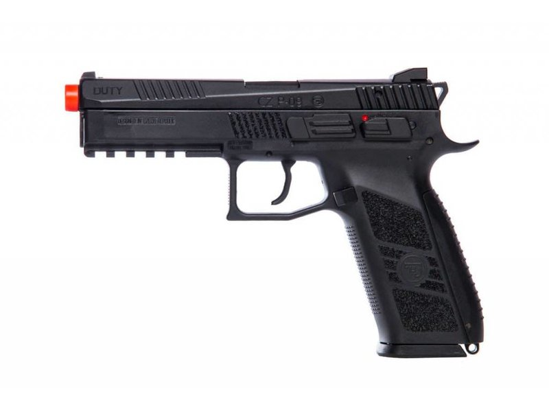 ASG ASG CZ P-09 Full Blowback Pistol with Green Gas Magazine Black
