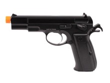 KJ Works KJ Works CZ75 w/green Gas Magazine Black