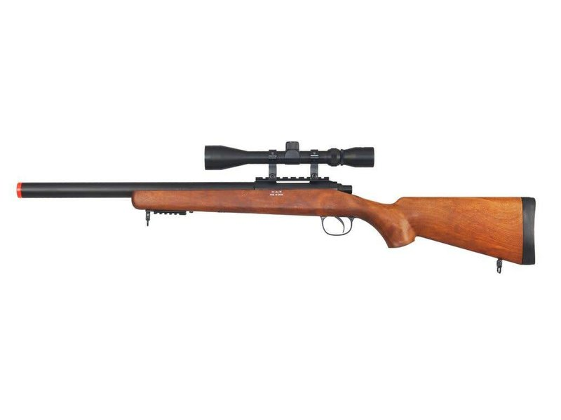 Well WELL MB02 VSR-10 CQB Bolt Action Spring Sniper Rifle