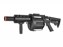 ICS ICS MILKOR Multiple Grenade Launcher, Black