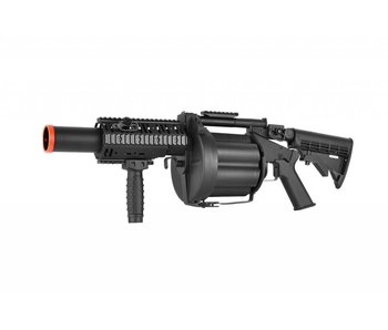 ICS MILKOR Multiple Grenade Launcher, Black