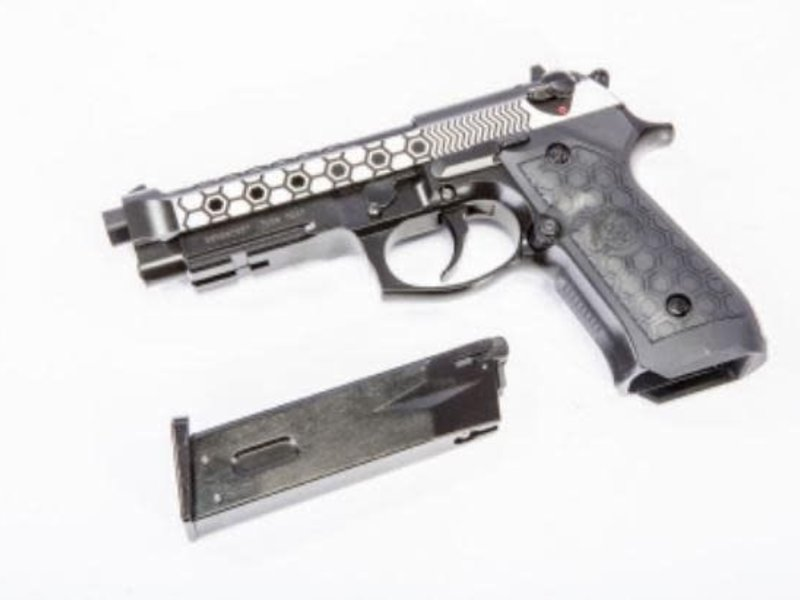 WE Tech WE Improved M9  Hex GBB Pistol