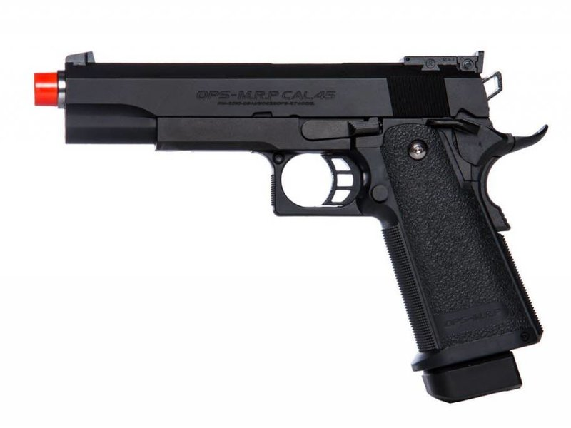 Tokyo Marui Tokyo Marui HI CAPA 5.1 Gas Blowback Airsoft Pistol Black