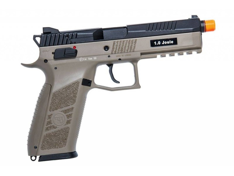 ASG ASG CZ P-09 GBB with CO2 Magazine and 14mm CCW Threaded Barrel