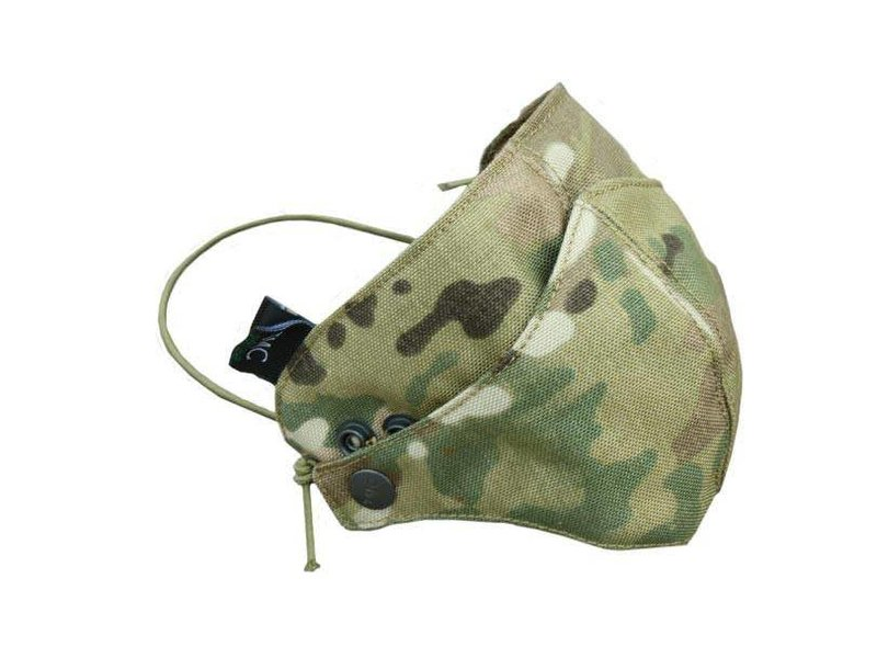 Airsoft Extreme AEX Cordura Half Face Mask MUL