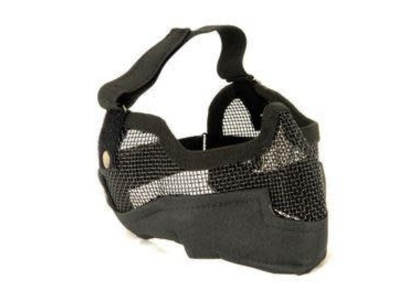 UK Arms UKARMS V2 Metal Mesh Mask with Ear Protection