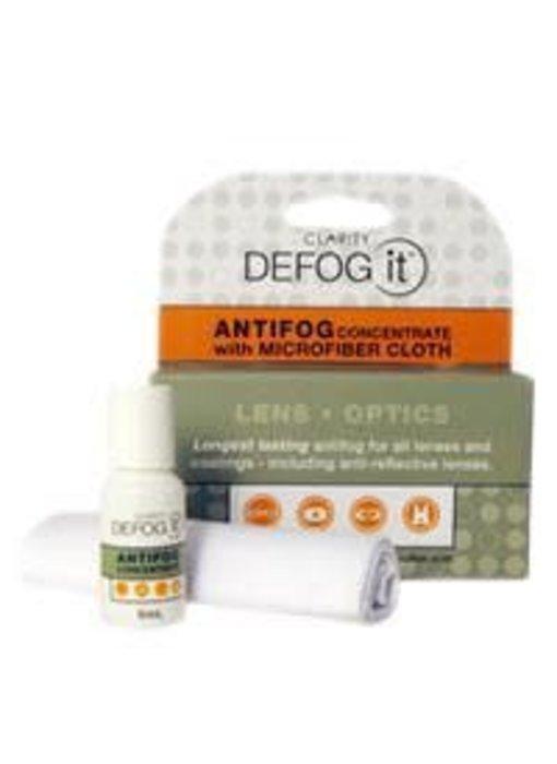 DeFog It 5mL Anti Fog with Cloth Kit