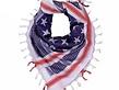 Rothco Rothco Heavyweight Shemagh US FLAG