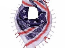 Rothco Rothco Heavyweight Stars and Stripes US Flag Shemagh Tactical Desert Keffiyeh Scarf