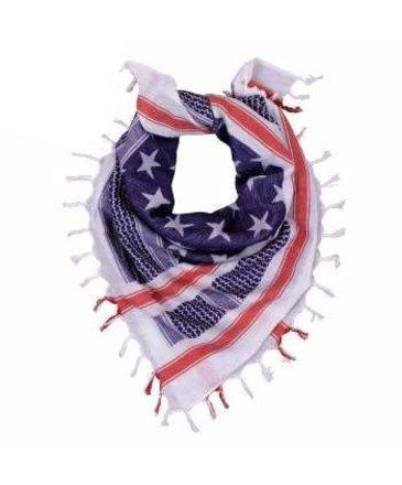 Rothco Rothco Heavyweight Stars and Stripes US Flag Shemagh Tactical Desert Keffiyeh Scarf