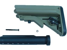 APS APS Crane Stock with 6 Position Metal Buffer Tube for M4 AEG