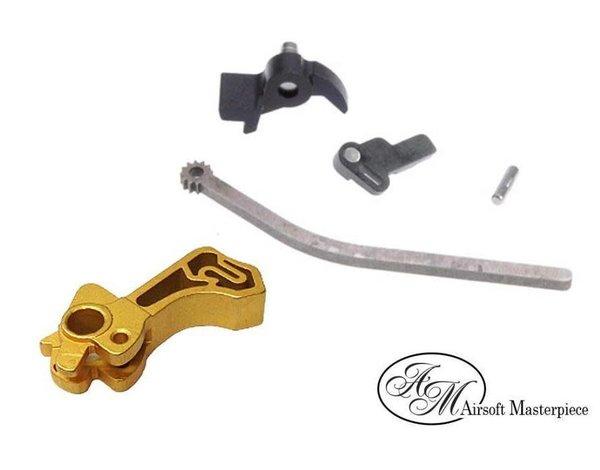 Airsoft Masterpiece Airsoft Masterpiece CNC Steel Hammer & Sear Set SV Gold