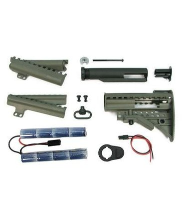 King Arms King Arms MOD Stock w/ 9.6V Olive Drab