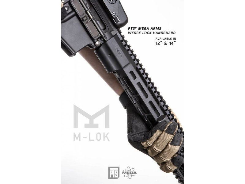 PTS PTS Mega Arms Wedge Lock Handguard 14''
