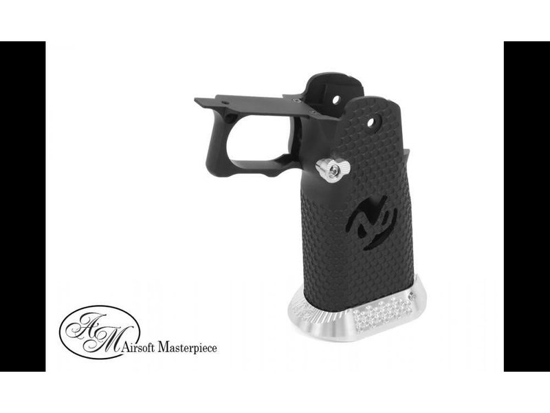 Airsoft Masterpiece Airsoft Masterpiece Aluminum HI CAPA Grip Type 2 Black