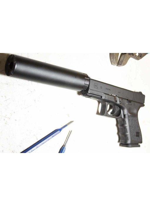 Pro-Arms Elite Force G19 threaded Barrel Black