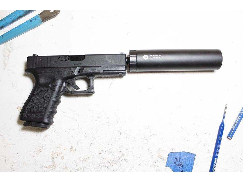 Pro-Arms Pro-Arms Elite Force G19 threaded Barrel Black