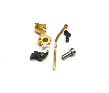 Airsoft Masterpiece HI CAPA Hammer Set STI Square TYP2 Gold