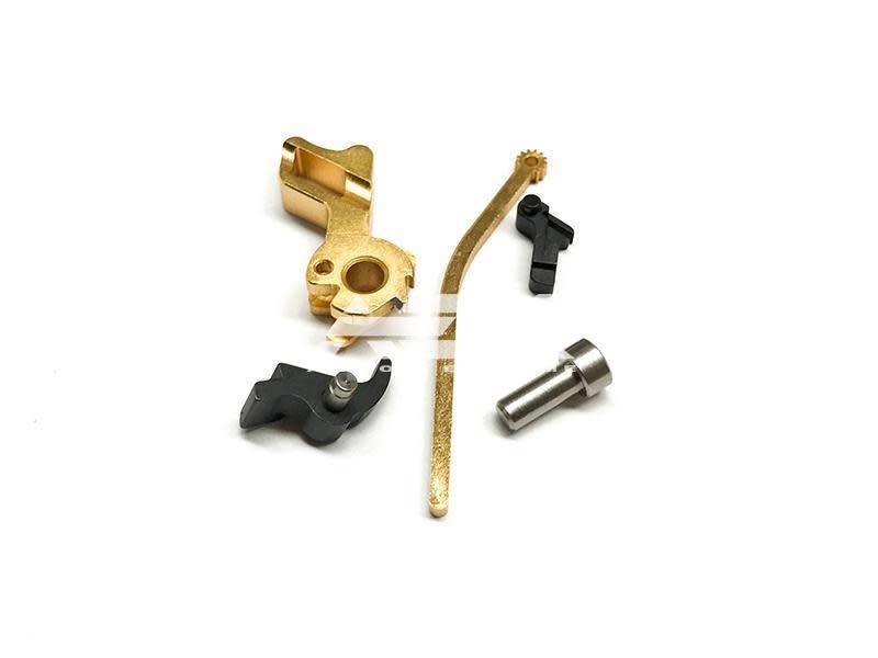 Airsoft Masterpiece Airsoft Masterpiece HI CAPA Hammer Set STI Square TYP2 Gold