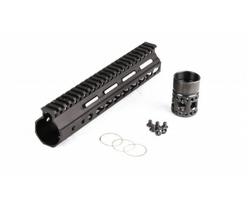 Parrallax Tactical FFSSR Keymod 9'' Black