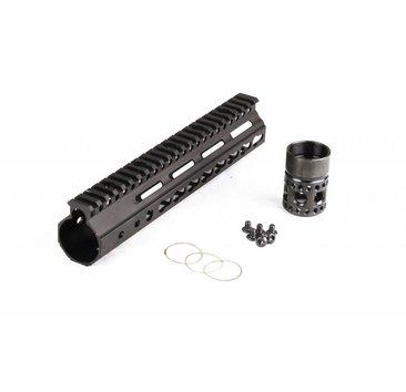 Parrallax Tactical Parrallax Tactical FFSSR Keymod 9'' Black